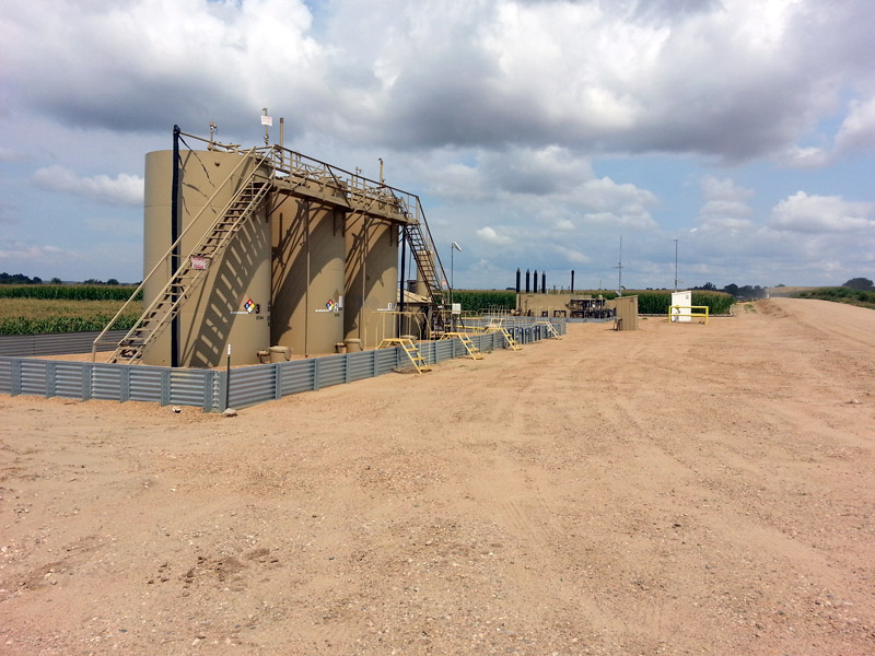 Oil and Gas Production Tanks
