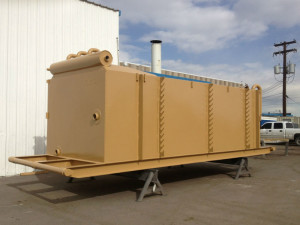Oilfield Welding and fabrication Circulating Tank Side