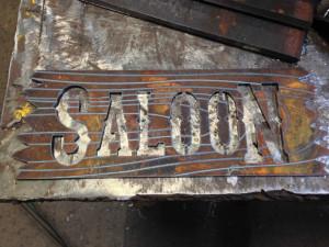 MMWF Custom Signage - Saloon