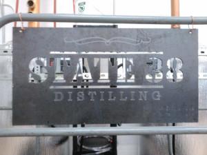 MMWF Custom Signage - State-38 Distilling